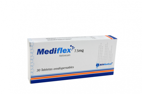 Mediflex 7.5 mg Caja Con 30 Tabletas Orodispersables Rx
