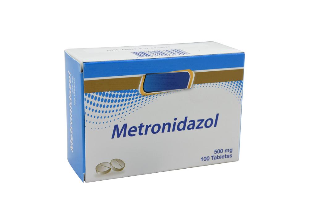 Metrodinazol 500 mg Caja Con 100 Tabletas Rx