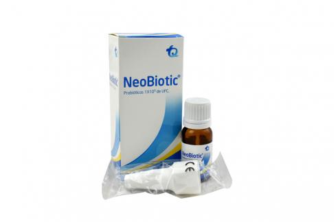 NeoBiotic Probióticos Caja Con Frasco Con 4 mL