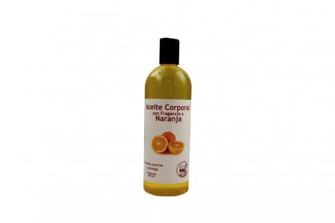 Aceite Corporal Con Aroma a Naranja Frasco Con 450 mL