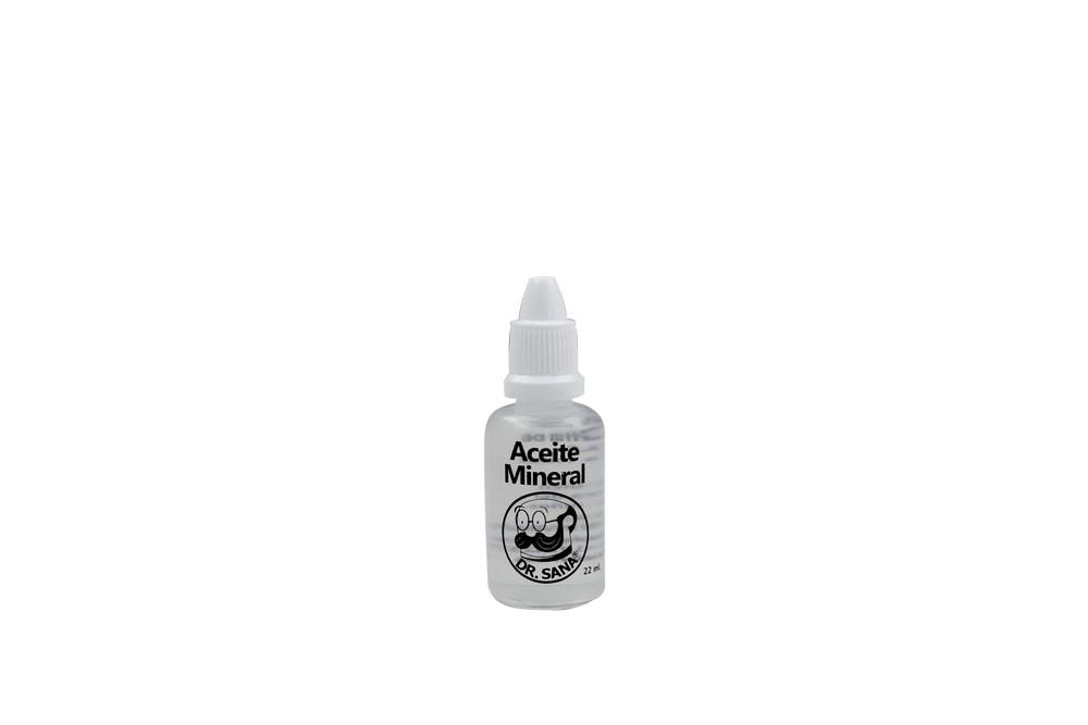 Aceite Mineral Natural Frasco Con 22 mL