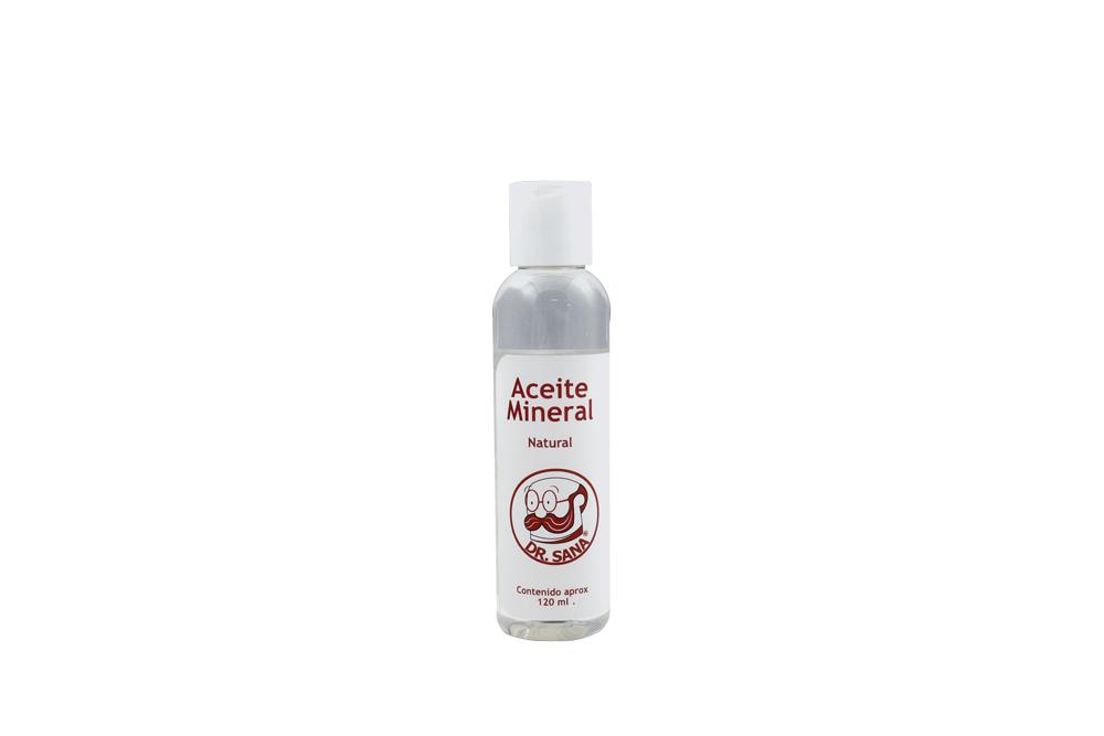 Aceite Mineral Natural Frasco Con 120 mL
