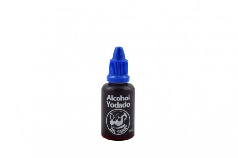 Alcohol Yodado Frasco Con 22 mL