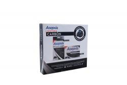 Jabón Carbón Detox Asepxia Barra Con 100 g + Parches Anti – Imperfecciones Con 12 Unidades