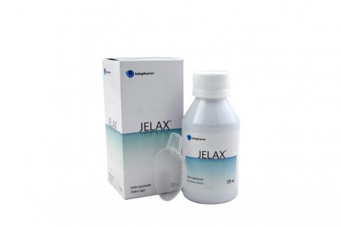 Jelax Jarabe Expectorante Caja Con Frasco Con 120 mL