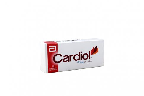 Cardiol 12,5 mg Caja Con 30 Tabletas Rx Rx4