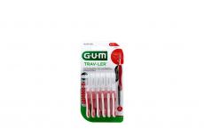 Cepillo Interdental Gum Trav-Ler 0,8 mm Empaque Con 6 Unidades
