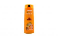 Shampoo Fortificante Garnier Fructis Oil Repair 3 Frasco Con 350 mL