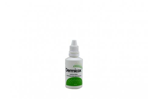Dermicox Solución 6 / 3 % Frasco Con 30 mL Rx Rx2