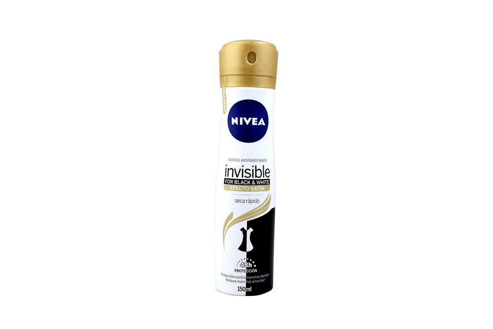 Desodorante En Aerosol Nivea Seca Rápido Frasco Con 150 mL