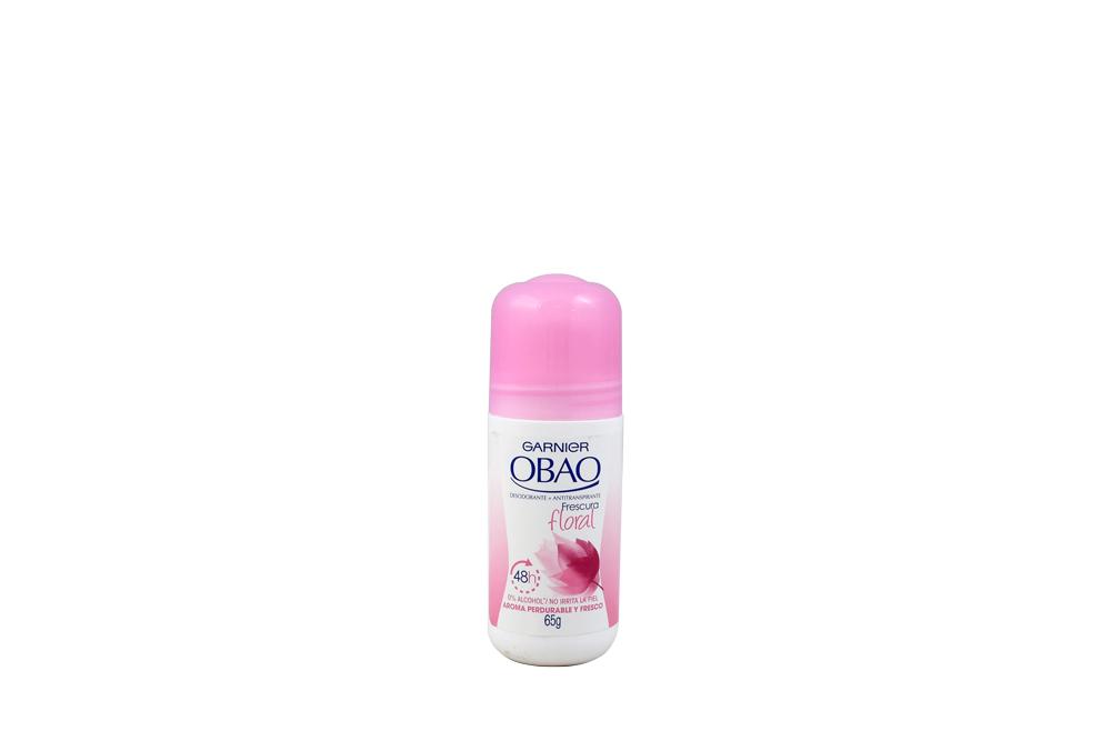 Desodorante Garnier Obao Frescura Floral Frasco Con 65 g