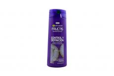 Shampoo Garnier Fructis Rizos Poderosos Frasco Con 350 mL