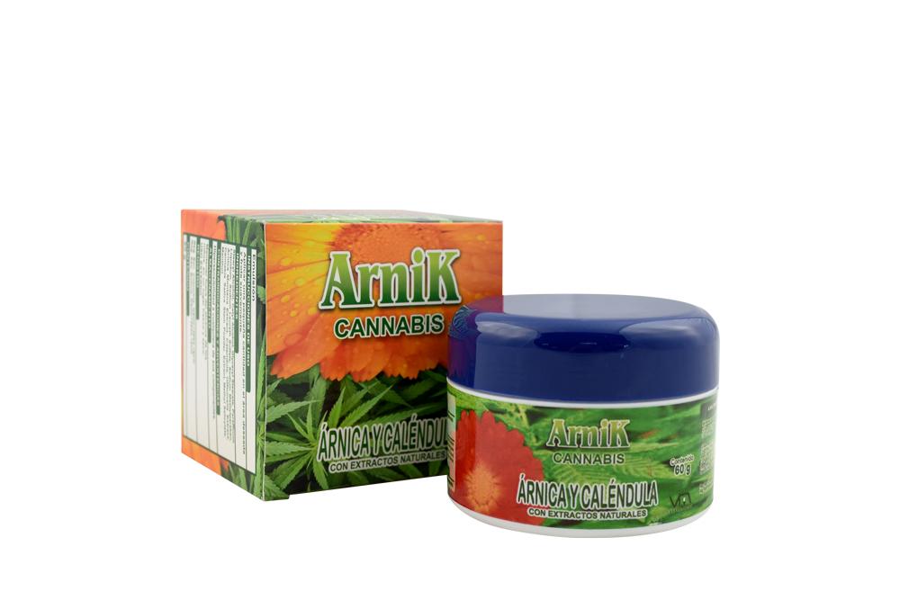 Crema Arnik Cannabis Caja Con Frasco Con 60 g