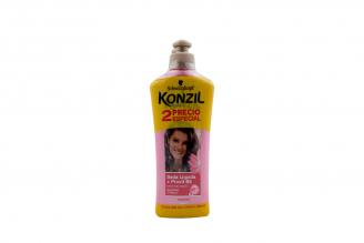 Crema Para Peinar Konzil Seda Líquida + Provit B5 Empaque Con 2 Frascos Con 230 mL C/U