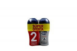Desodorante Balance Invisible Men Roll-On Empaque Con 2 Unidades