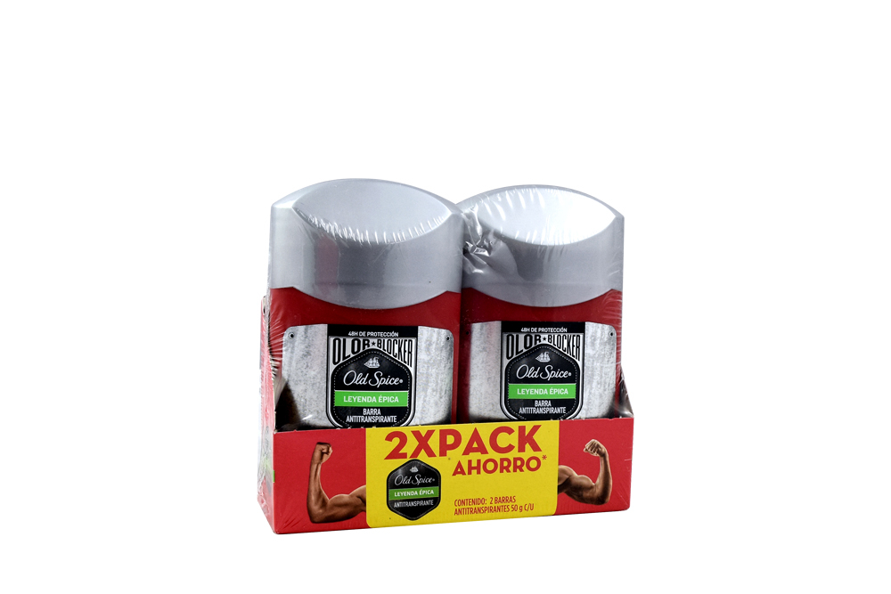 Desodorante Old Spice Olor Leyenda Épica Empaque Con 2 Unidades
