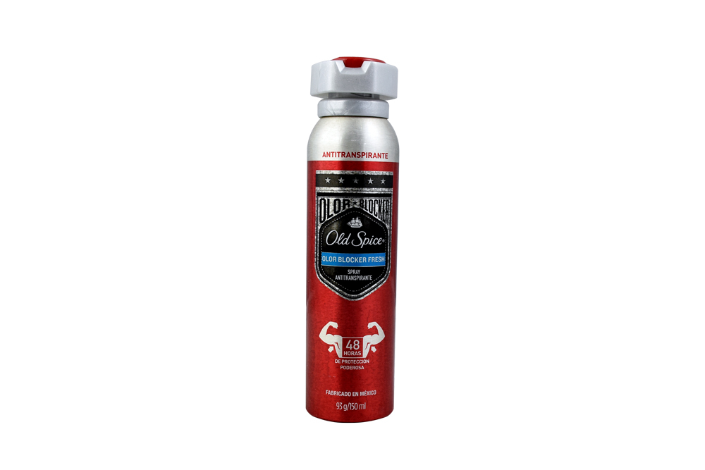 Antitranspirante Old Spice Olor Blocker Fresh Aerosol Con 150 mL
