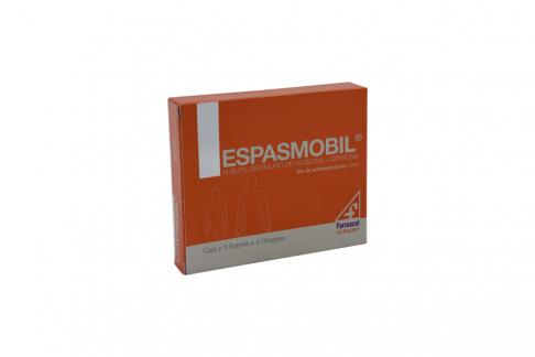 Espasmobil Caja Con 12 Tabletas C/U