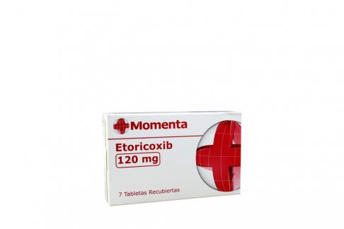 Etoricoxib 120 Mg Caja Con 7 Tabletas Rx