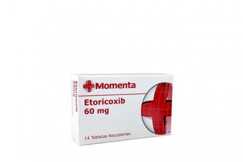 Etoricoxib 60 Mg Caja Con 14 Tabletas Rx