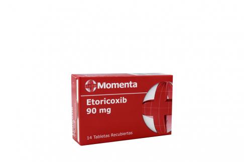 Etoricoxib 90 Mg Caja Con 14 Tabletas Rx
