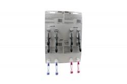 Máquina Para Afeitar Gillette Prestobarba 3 + Venus Simply 3 Empaque Con 12 Unidades