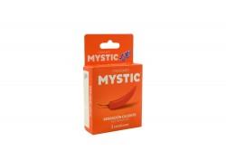 Preservativos Mystic Hot Sensation Caja Con 3 Unidades