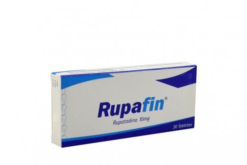 Rupafin 10 mg Caja Con 30 Tabletas Rx