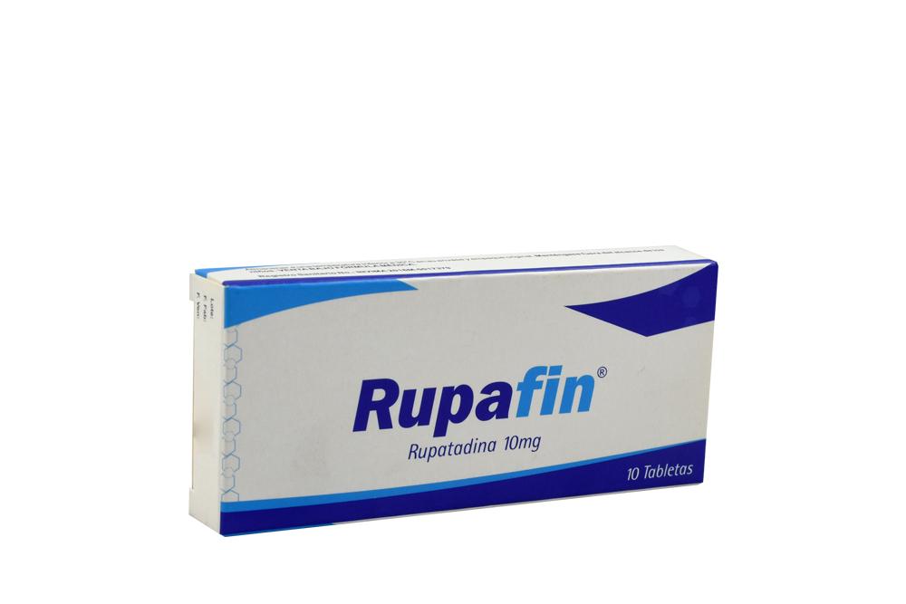 Rupafin 10 mg Caja Con 10 Tabletas Rx
