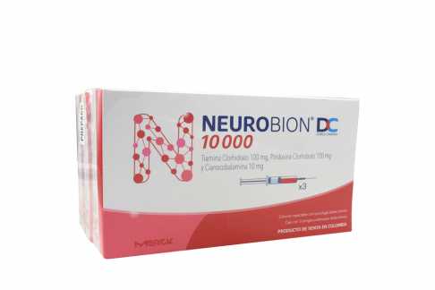 Neurobion Dc Jeringa Prellenada Caja Con 3 Unidades Rx