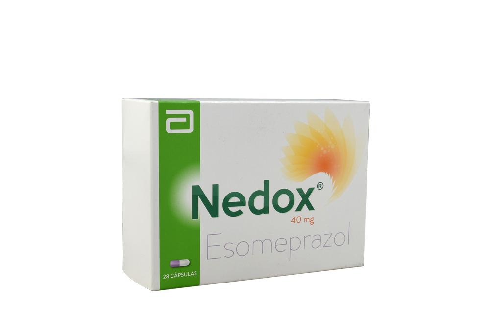 Nedox 40 Mg Caja Con 28 Cápsulas Rx