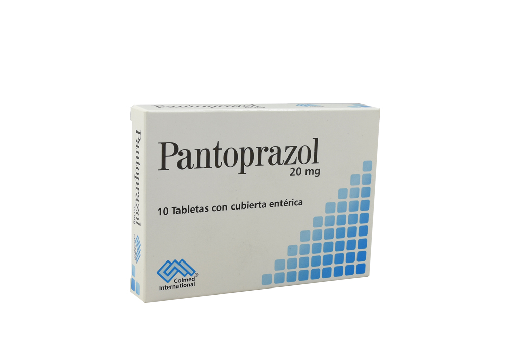 Pantoprazol 20 Mg Caja Con 10 Tabletas Rx
