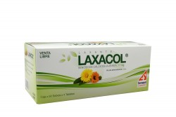 Laxacol 28 + 33 Mg Caja Con 200 Tabletas