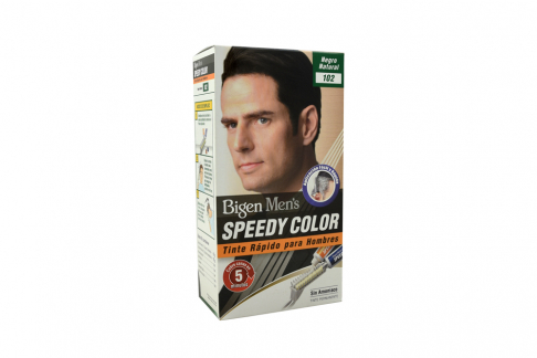 Tinte Bigen Men's Speedy Color Tono Negro Natural Número 102