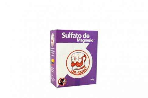 Sulfato De Magnesia Bolsa Con 400 g