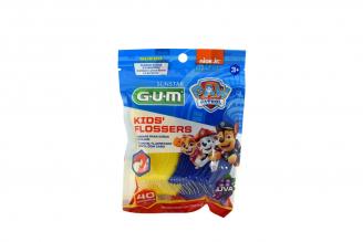 Seda Dental GUM SunStar Paw Patrol Bolsa Con 40 Unidades