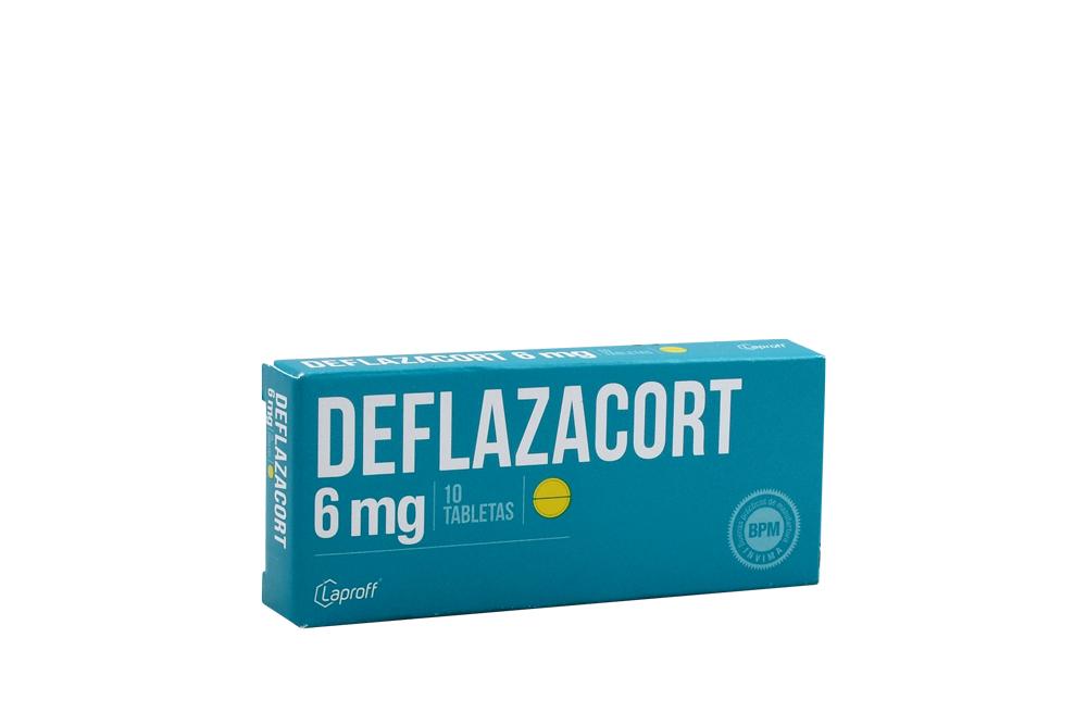 Deflazacort 6 Mg Caja Con 10 Tabletas Rx