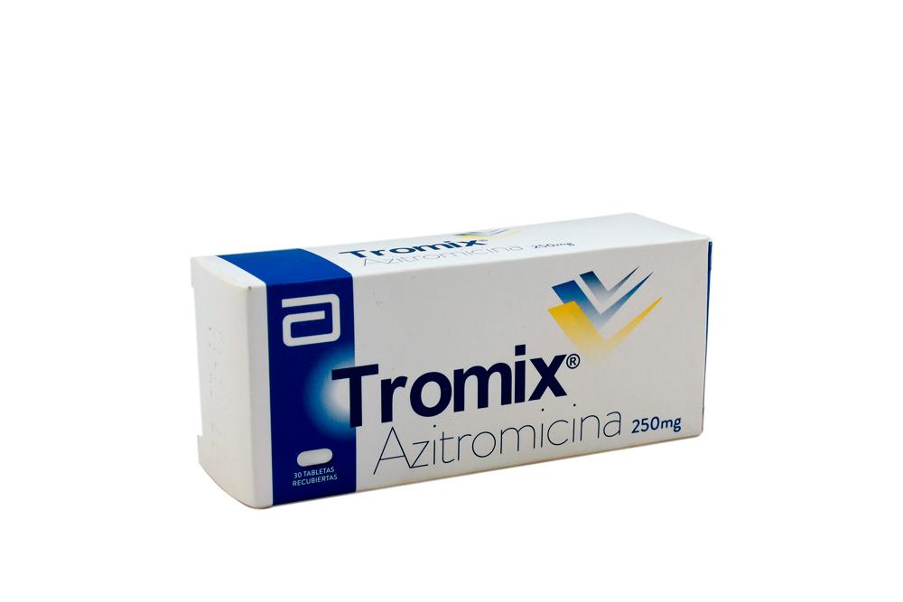 Tromix 250 mg Caja Con 30 Tabletas Recubiertas Rx Rx2