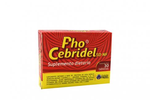 PhoCebridel Caja Con 30 Tabletas