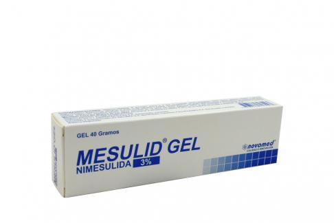 Mesulid Gel 3 % Caja Con Tubo Con 40 g