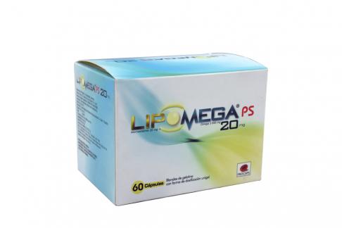 Lipomega 20 / 84 mg Caja Con 60 Cápsulas Rx Rx4