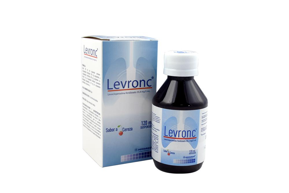 Levron Suspensión 35.4 mg /5 mL Caja Con Frasco Con 120 mL Rx Rx4