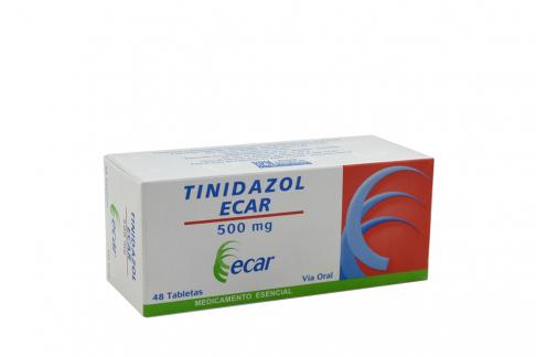 Tinidazol 500 mg Caja Con 48 Tabletas Rx Rx2