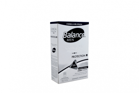 Desodorante Balance Men Clinical Protection Crema Frasco Con 50 g