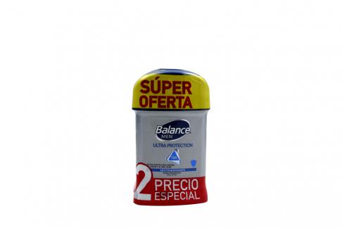 Desodorante Balance Men Ultra Protección Barra Con 50g