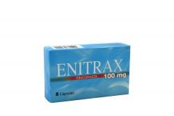 Enitrax 100 mg Caja Con 8 Cápsulas Rx Rx2 Rx1