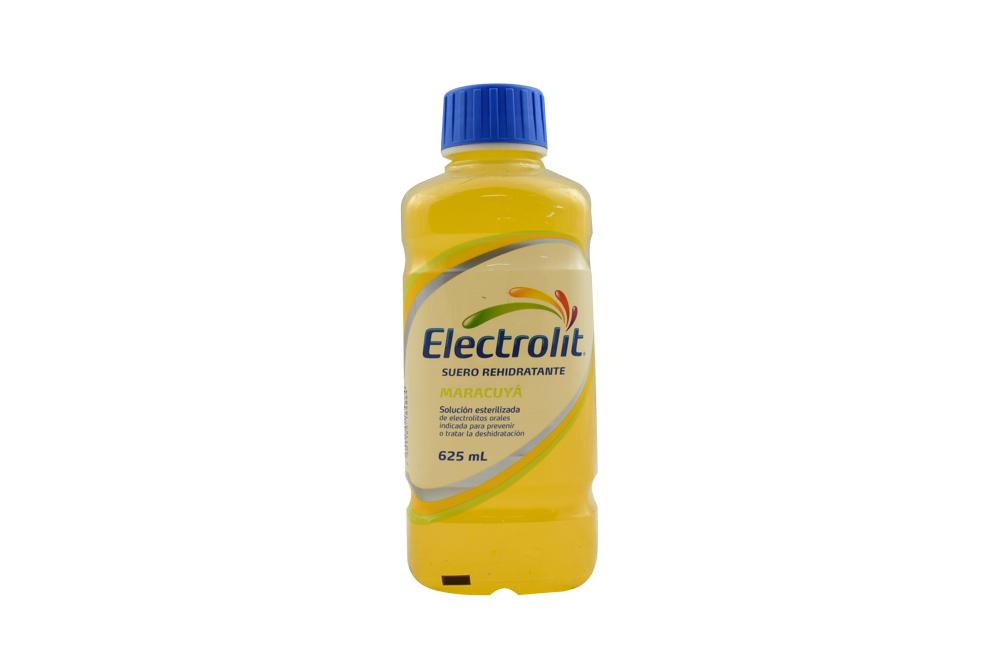 Electrolit Suero Rehidratante Frasco Con 625 mL - Sabor Maracuyá