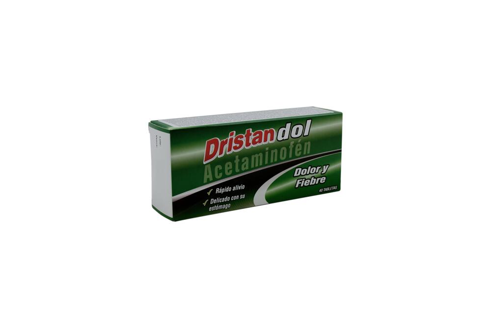 Dristandol 500 mg Caja Con 40 Tabletas