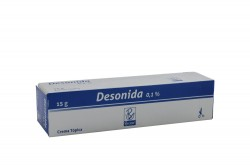 Desonida 0.1 % Caja Con Tubo Con 15 g Rx