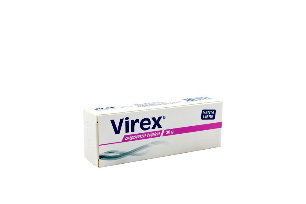 Virex 5% Ungüento Caja Con 1 Tubo Con 30 g Rx Rx2